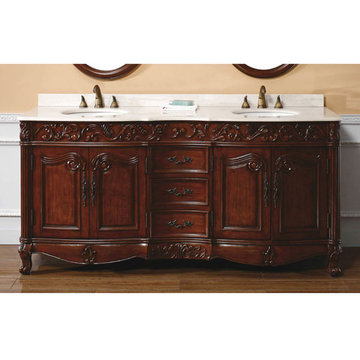 James Martin Classico 72 Inch Baymount Double Bathroom Vanity
