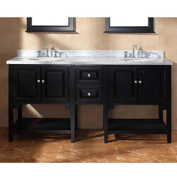 James Martin Classico 72 Inch Mesaana Double Bathroom Vanity