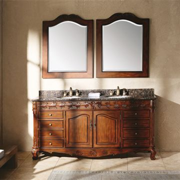 James Martin Classico 72 Inch Tanya Cherry Double Bathroom Vanity