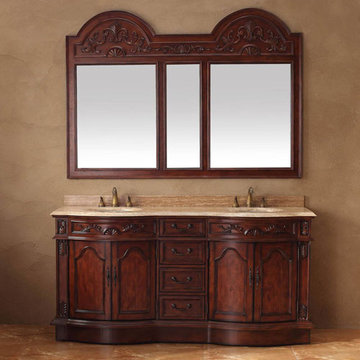 James Martin Classico Cherry Double Mirror
