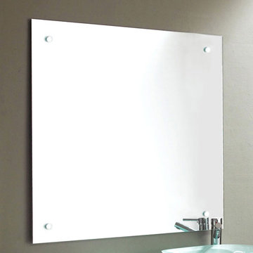 James Martin Contempo 39 1/2 Inch Clear Finish Mirror
