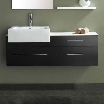 James Martin Contempo 47 1/4 Inch Espresso Single Sink Vanity