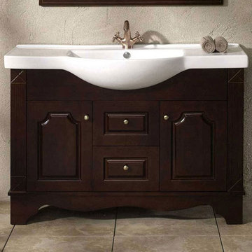 James Martin Contempo 48 Inch Single Sink Cherry Vanity
