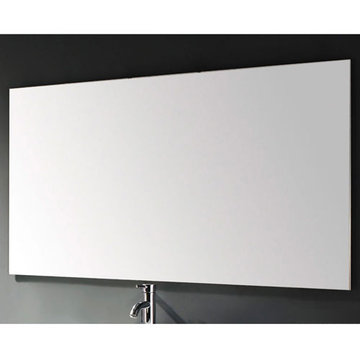James Martin Contempo 59 Inch Clear Finish Mirror
