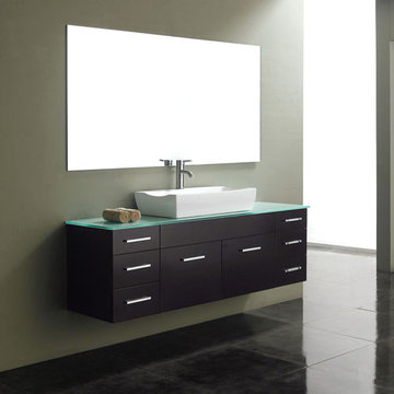 James Martin Contempo 60 Inch Espresso Single Vanity