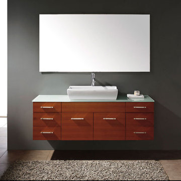 James Martin Contempo 60 Inch Maple Single Vanity
