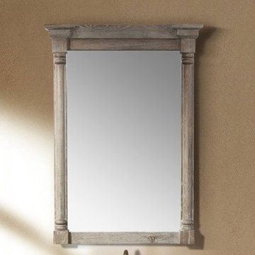 James Martin Providence 31 Inch Driftwood Single Mirror