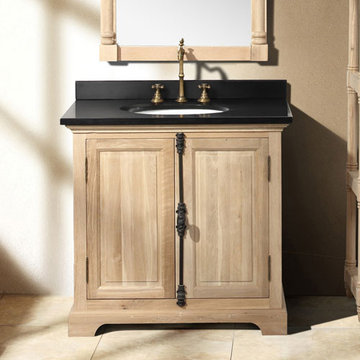 James Martin Providence 35 1/2 Inch Natural Oak Single Vanity Cabinet Only