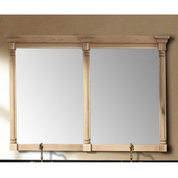 James Martin Providence 71 Inch Natural Oak Double Mirror