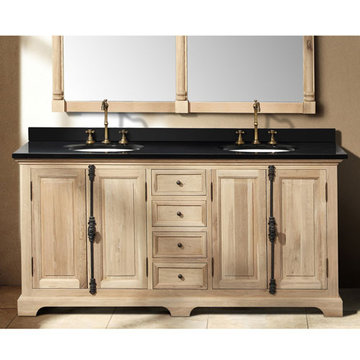 James Martin Providence 71 Inch Natural Oak Double Vanity Cabinet Only