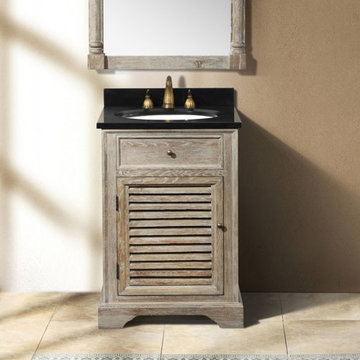 James Martin Savannah 23 3/4 Inch Driftwood Vanity Cabinet Only
