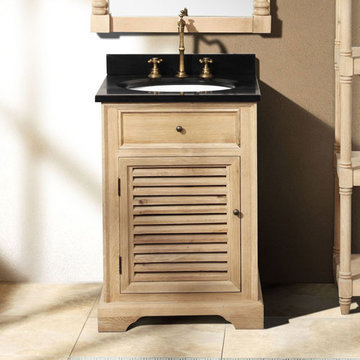 James Martin Savannah 23 3/4 Inch Natural Oak Vanity Cabinet Only