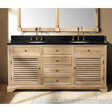 James Martin Savannah 71 Inch Natural Oak Double Vanity Cabinet Only