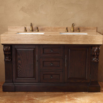 James Martin Toscano 60 Inch Double Bathroom Vanity