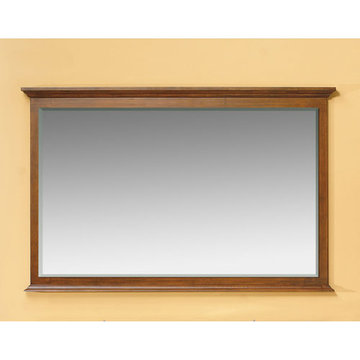 James Martin Urban 59 Inch Brown Mahogany Mirror