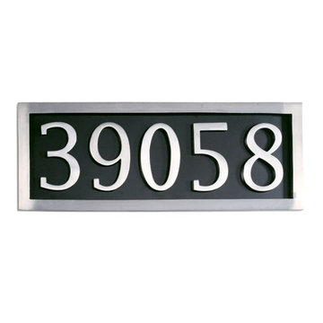 Five Digit Address Marker Plaque