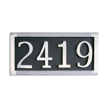 Four Digit Address Marker Plaque