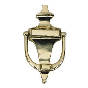 Brass Accents Rope 6 1/2 Inch Door Knocker