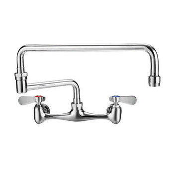 Wall Mount Double Jointed Laundry Faucet
