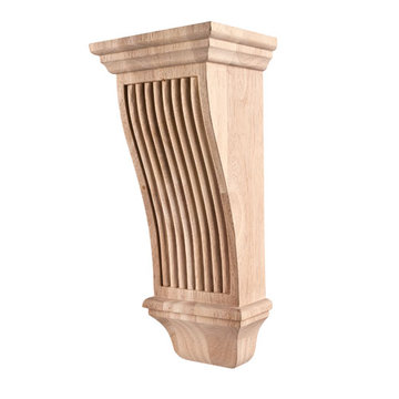 Legacy Heritage 14 Inch Renaissance Reeded Corbel