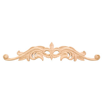 Legacy Heritage 20 Inch Hand Carved Fleur-de-Lis Onlay Applique