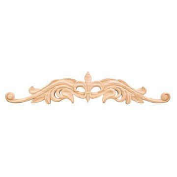 Legacy Heritage 20 Inch Hand Carved Fleur-de-Lis Onlay Applique