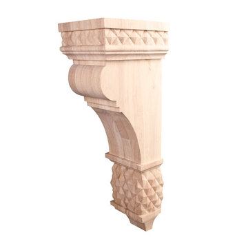 Dubois 22 Inch Diamond Colonial Corbel