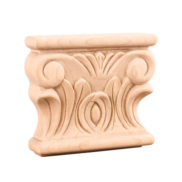 Legacy Heritage Acanthus 3 1/2 Inch Capital Applique