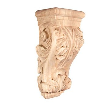 Legacy Heritage Acanthus Low Profile 12 Inch Wood Corbel