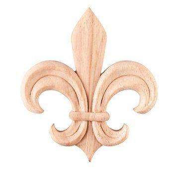 Legacy Heritage Fleur De Lis Embossed Applique