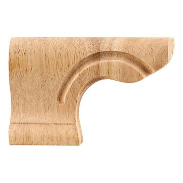 Legacy Heritage Left Small Pedestal Bracket Foot