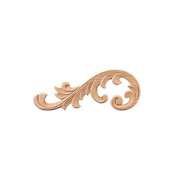 Legacy Heritage Round Scroll Left Applique
