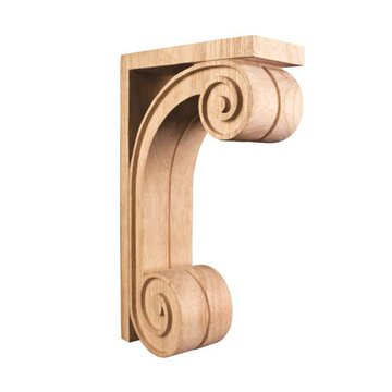 Legacy Heritage Scrolled Wood Bar Corbel