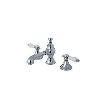 Restorers Vintage Lavatory Faucet with Porcelain Levers