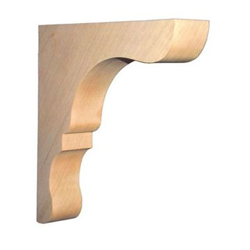 Legacy Signature 10 Inch Narrow Lexington Overhang Bar Bracket Corbel