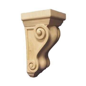 Legacy Signature 10 Inch Traditional Athena Scroll Corbel - Extra Wide