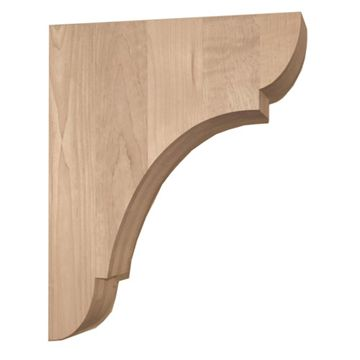 Legacy Signature 12 Inch Manchester Bar Bracket Corbel - Wide