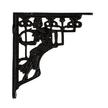 Restorers Art Nouveau Lady Shelf Bracket - Pair