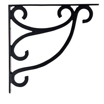 Restorers Double Scroll Shelf Bracket