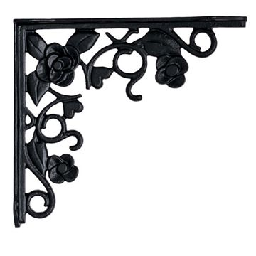Restorers Floral Shelf Bracket
