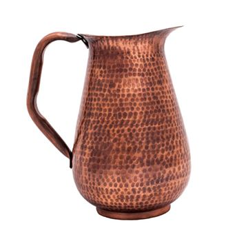 Restorers Hammered Copper Pitcher