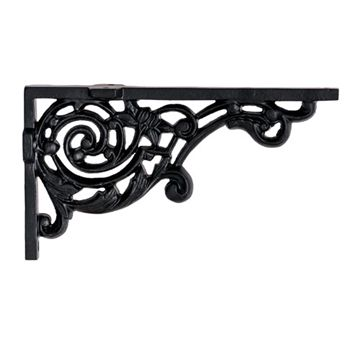 Restorers Heavy Scroll Shelf Bracket