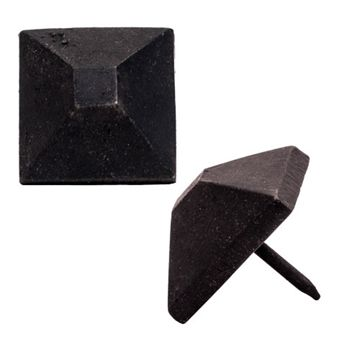 Restorers Pyramid Flat Top Head Clavo Nail - Pack of 6