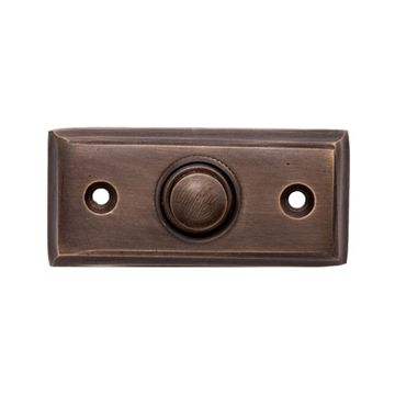 Restorers Rectangular Door Bell Button
