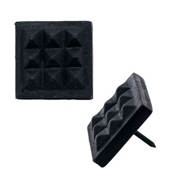 Restorers Square Waffle Clavo Nail - Pack Of 6