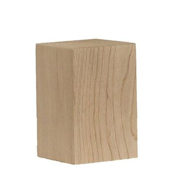 Legacy Artisan Straight Square 2 3/4 Inch Bun Foot