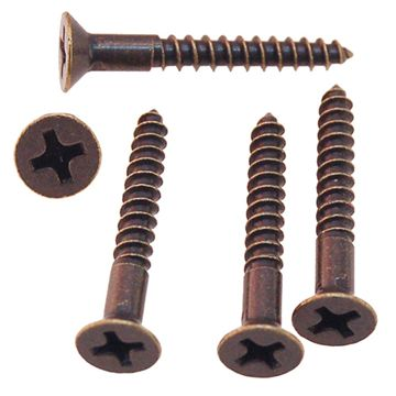 Restorers Classic #7 x 1 Inch Phillips Flat Head Screws - Pack of 20