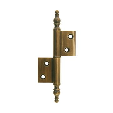 Restorers Classic 2 1/2 Inch Armoire Right Hand Flag Hinge