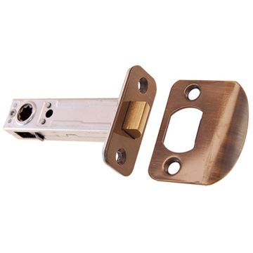 Restorers Classic 2 3/4 Inch Backset Passage Tube Latch