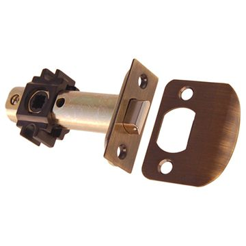 Restorers Classic 2 3/8 Inch Backset Passage Tube Latch